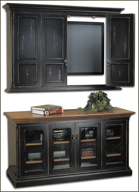 motorized tv cabinets for flat screens home design