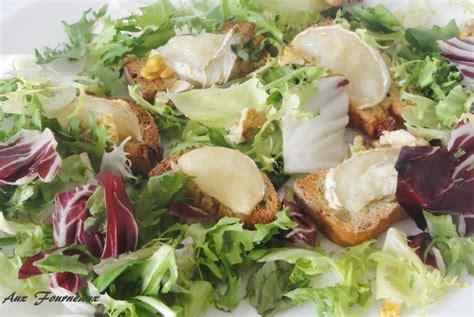 cuisiner le fenouil salade de chèvre chaud aux noix aux fourneaux