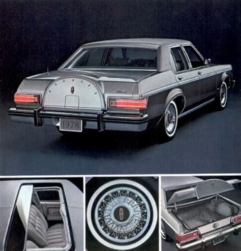 1978 Lincoln Versailles Production Numbers/Specifications