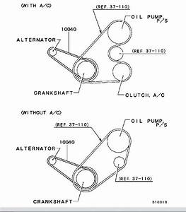 2001 Mitsubishi Mirage 1 8l Serpentine Belt Diagram