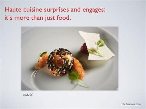 haute cuisine recipes gallery