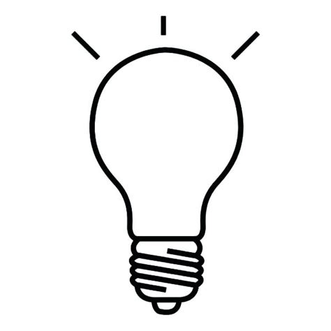 How To Draw A Light Bulb by Light Bulb Drawing At Getdrawings Free For Personal