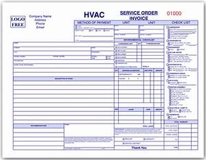 repair ticket template - hvac order form