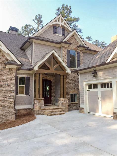 plan tw luxury craftsman house plan idea   rear sloping lot luxury craftsman house