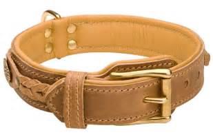 hundehalsband design halsband leder exklusiv für boxer gepolstert geflochten