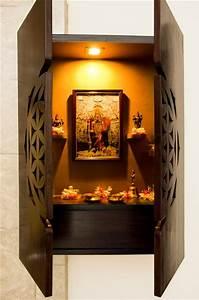 Poonam Gupta Style on a Budget - Pooja Unit - open