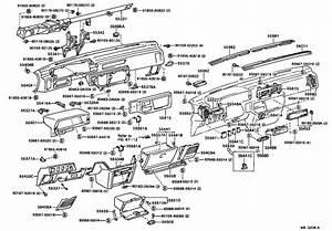 Engine Compartment Diagram For 1987 Toyota Camry