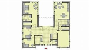 Atrium Bungalow Grundrisse : premium flachdach bungalow cote d 39 azur von gussek haus ~ Bigdaddyawards.com Haus und Dekorationen