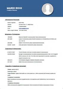 modello curriculum vitae europeo da compilare motorcycle review and galleries