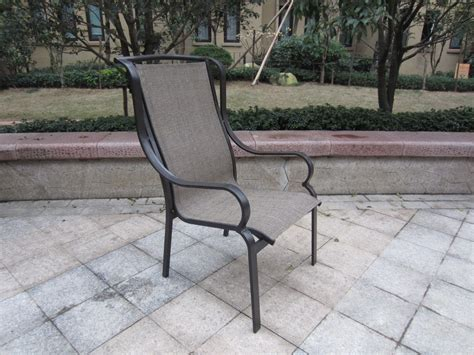 Sling Patio Furniture by Western Sling Patio Furniture Stack Sling Patio Chair