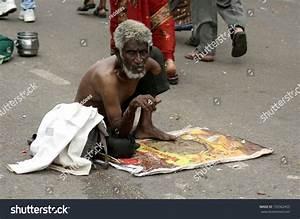 Hyderabadindiaseptember 18old Indian Man Seek Help Stock ...