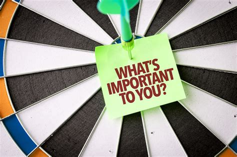 Whats Important To You Stock Photo - Download Image Now ...