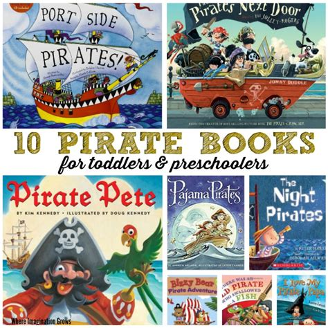 10 pirate books for where imagination grows 380 | pirate books preschool toddler fb