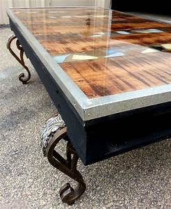 decorative 48quotx 28quot coffee table created with the use of a With different coffee tables