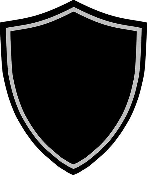 imagem vetorial gratis blindagem cracha logotipo