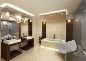 Deckenverkleidung Badezimmer Beispiele : badbeleuchtung f r decke 100 inspirierende fotos ~ Sanjose-hotels-ca.com Haus und Dekorationen