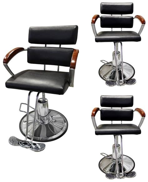 lot 3 hydraulic adjustable barber chair hair styling salon