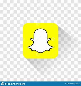 Isolated Snapchat Logo  Vector Illustration  Snapchat Icon