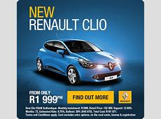 New Renault Clio Authentique, available from R1 999pm