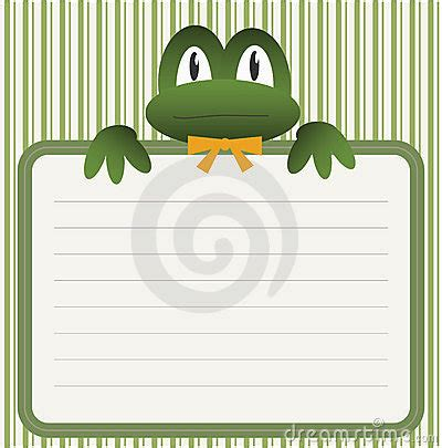 baby shower  frog stock photography image