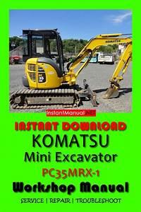 Instant Download Komatsu Pc35mrx