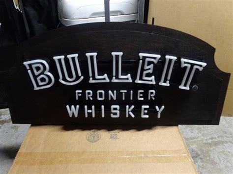 bulleit frontier whiskey led neon light sign neon