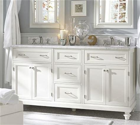modular classic sink console with doors drawers