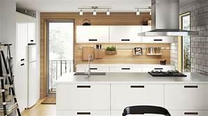 Ikea Cuisine Blanche : cuisine ikea blanche bois cuisine en image ~ Melissatoandfro.com Idées de Décoration