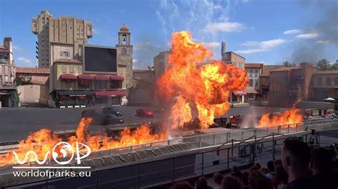 disneyland paris moteurs action stunt show