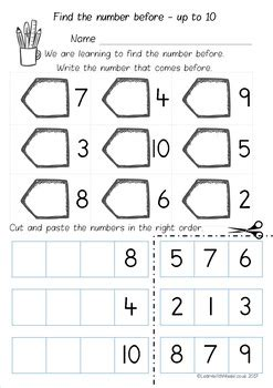 number       worksheet pack  learn
