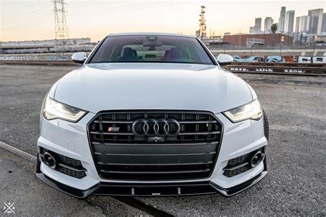 Audi S6 Front by Karbel Audi C7 5 Audi S6 Carbon Fiber Front Lip Winn