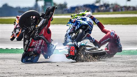 Bike sport news is the place for everything you need to know in the motorcycle racing world, from british superbikes, world superbikes and motogp. Airbag Saved Andrea Dovizioso and Fabio Quartararo in ...