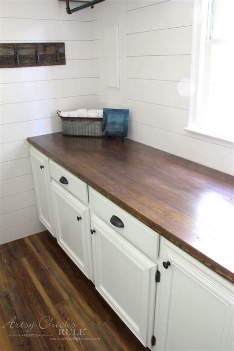 diy wood countertop ideas how to make a diy wood countertop easier than you thought
