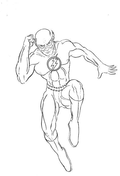 Flash Superhero Drawing Pencil