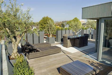roof terrace design  st johns wood nw  garden