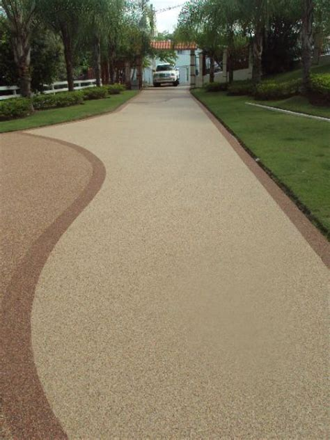 Epoxy Pebble Flooring Products by Pebble Driveway Epoxy Pebble Driveway Http Www
