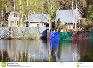 Haus Auf Dem Wasser : russische l ndliche landschaft haus auf dem wasser stockfoto bild 40457711 ~ Markanthonyermac.com Haus und Dekorationen
