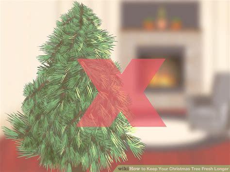 how to keep your christmas tree fresh longer 13 steps