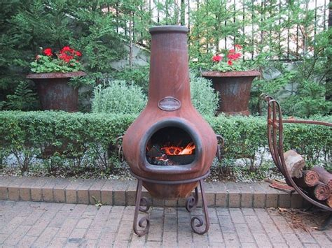 Terracotta Chiminea Pit by 17 Best Ideas About Clay Pit On Chiminea