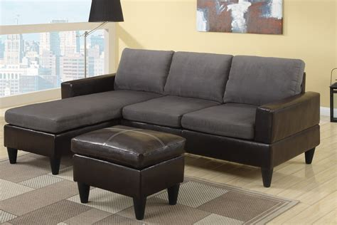 small leather sectional how to place and improve the look of small sectional sofa