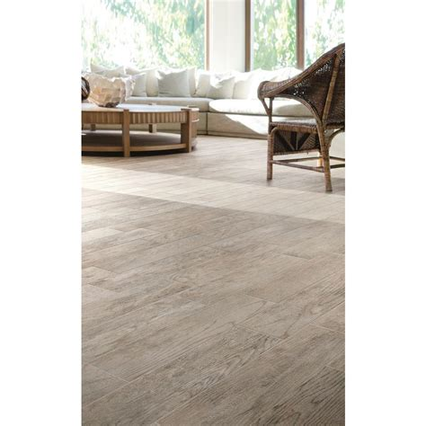 home depot marazzi wood look tile marazzi montagna dapple gray 6 in x 24 in porcelain