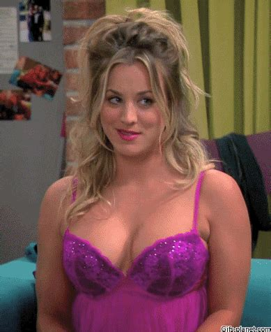 kaley cuoco images gif find share giphy
