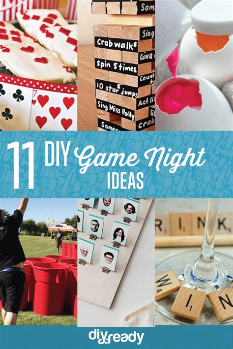 game night ideas diy projects craft ideas  tos