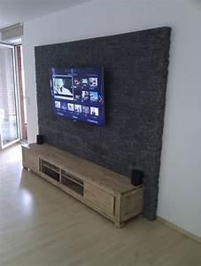 Steinwand Wohnzimmer Tv : steinwand mediawand eigenbau eigenbau mediawand offtopic steinwand steinwandmultimedia ~ Bigdaddyawards.com Haus und Dekorationen