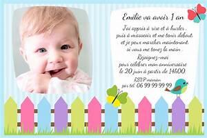 Texte Anniversaire 1 An Garçon : texte carte anniversaire 1 an gar on ~ Melissatoandfro.com Idées de Décoration