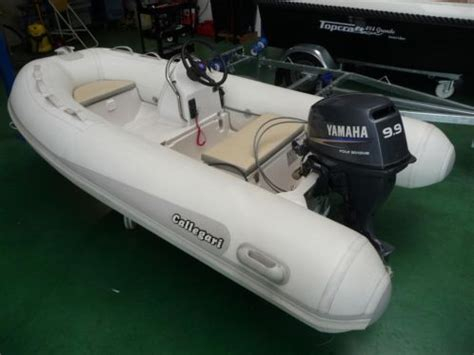 Rubberboot Jockeyseat by Callegari Alcor 300 Rib 2010 Met Yamaha 15 Pk Elektr