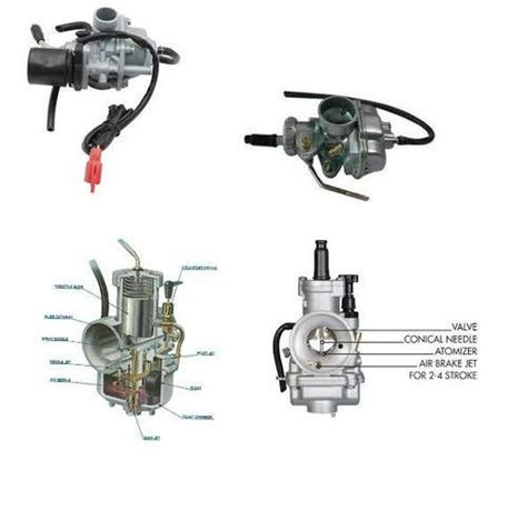 Two Cycle Carburetor Diagram by Two Wheeler Carburetor Parts Motorcycle Carburetor Parts