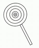 Coloring Pages Candy Lollipop Popular sketch template
