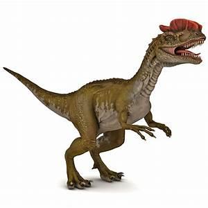 dilophosaurus dinosaur modelled 3d max  Dilophosaurus
