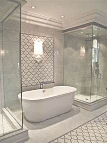 Glass Shower Bathrooms with Freestanding Tubs